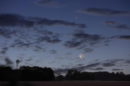 Фотографии Луна, Венера, Аргентина