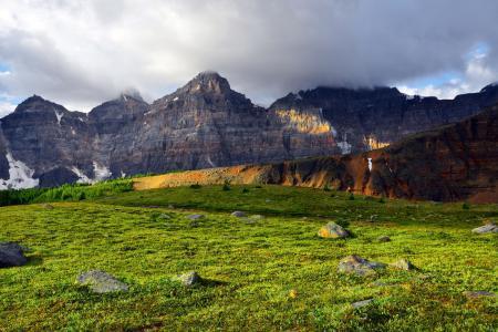Картинки горы, долина, природа, пейзаж