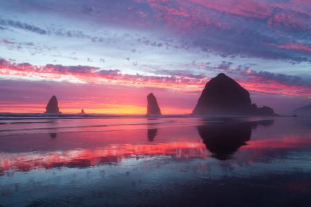 Фотографии пляж, океан, берег, закат