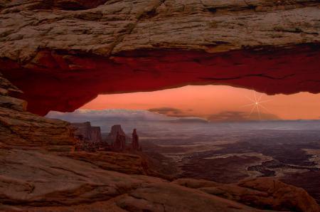 Картинки Земля, Венера, восход, Юта