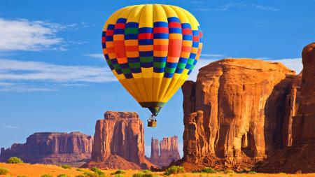 Фото люди, воздушный шар, природа