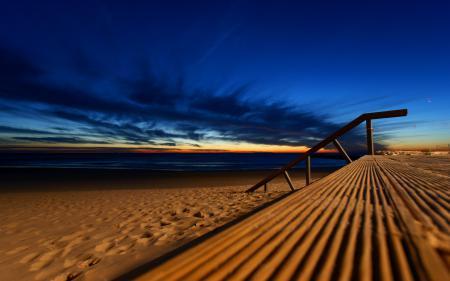 Заставки песок, природа, небо, море