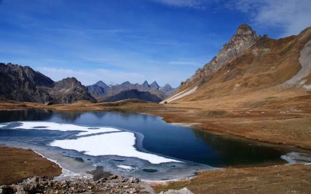 Картинки Пейзаж, природа, горы, озеро