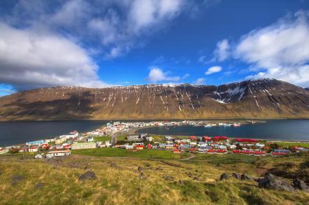 Картинки Isafjordur, Island, Исафьордюр, Исландия