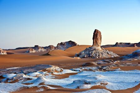 Заставки пустыня, камни, песок, пейзаж
