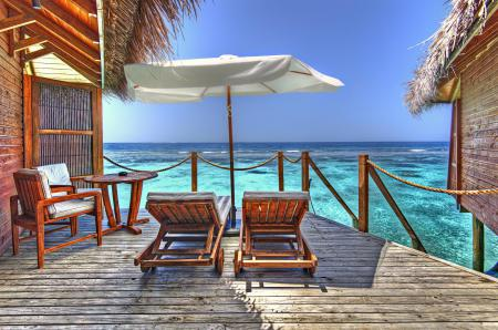 Фотографии Мальдивы, океан, курорт, бунгало