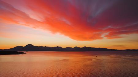 Заставки обои, пейзаж, небо, закат
