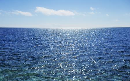 Заставки Япония, Окинава, океан, небо