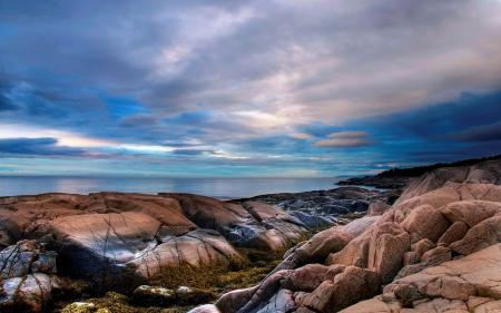 Фотографии природа, океан, берег, камни