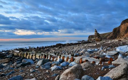Фотографии море, небо, камни, пейзаж