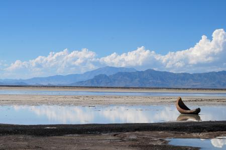 Заставки мель, озеро, море, лодка