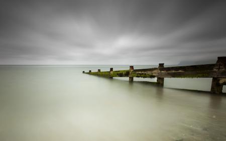 Фото море, мост, пейзаж