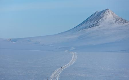 Фотографии гора, зима, снег, пейзаж