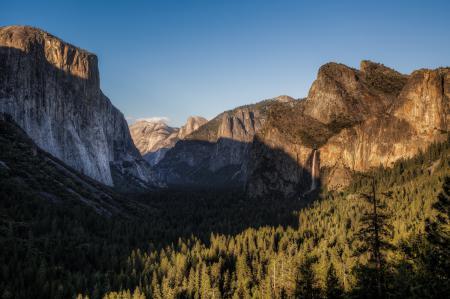 Фото Yosemite National Park, California, Национальный парк Йосемити, долина