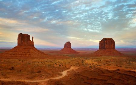 Фотографии Utah, Arizona, Monument Valley, горы