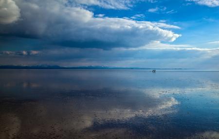 Заставки озеро, море, мель, берег