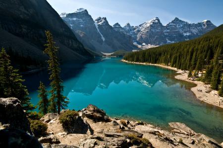 Картинки канада, горы, озеро, лес