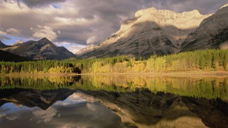 Картинки горы, озеро, лес, деревья