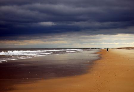 Картинки пейзаж, море, волны, небо