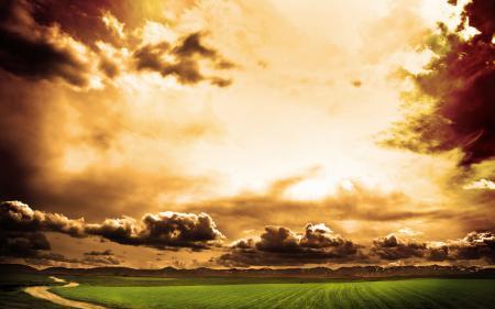 Фото пейзажи, природа, небо, облако
