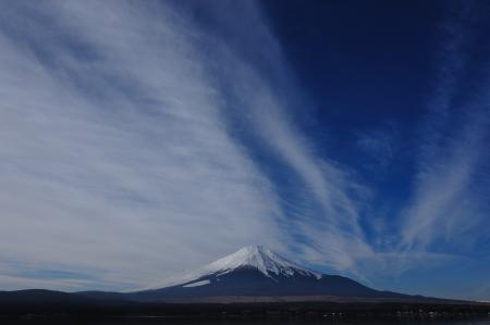 Фото пейзаж. небо, горизонт, облака, гора
