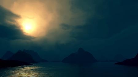 Фотографии природа, ночь, небо, луна