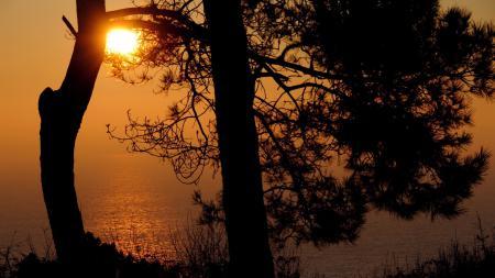 Картинки Пейзаж, природа, закат, солнце