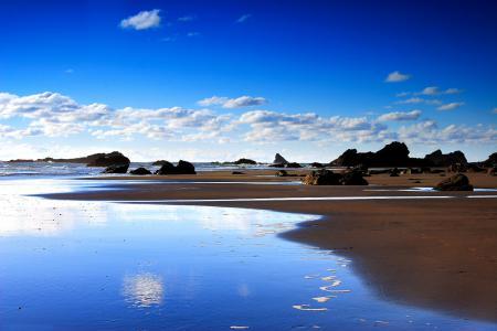 Фотографии Морской пейзаж, море, берег, песок