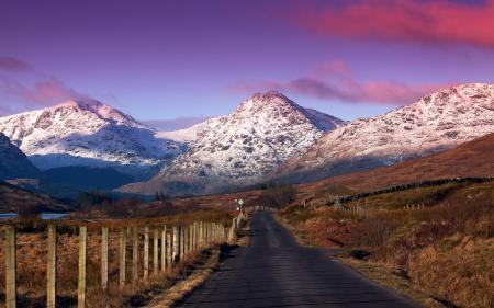 Картинки горы, дорога, пейзаж