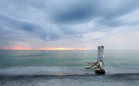 Заставки море, небо, закат
