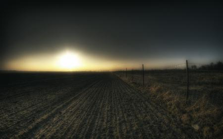 Фотографии ночь, поле, забор