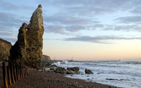 Картинки море, берег, скалы, пейзаж