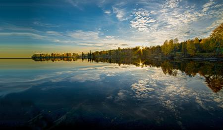 Фотографии Maridalsvannet lake, Maridalen, Norway, Норвегия