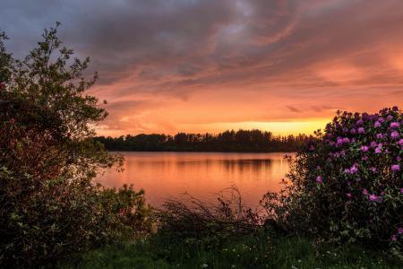 Заставки Barcraigs Reservoir, Scotland, водохранилище Баркрейгс, Шотландия