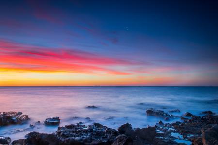 Фото Австралия, Мельбурн, небо, закат
