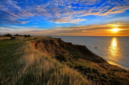 Фотографии море, небо, облака, солнце