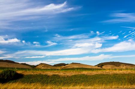 Заставки небо, облака, холмы