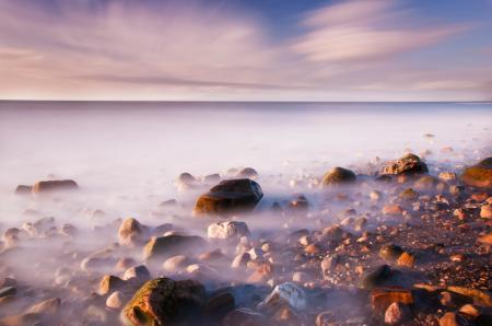 Заставки пейзаж, море, небо, камни