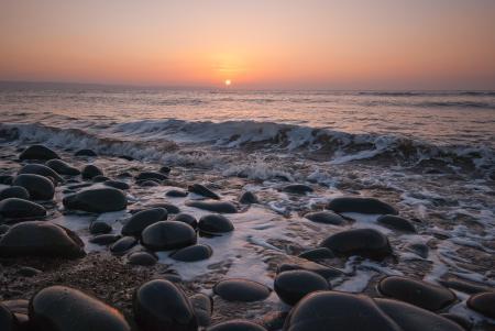 Фото пейзаж, море, волны, небо