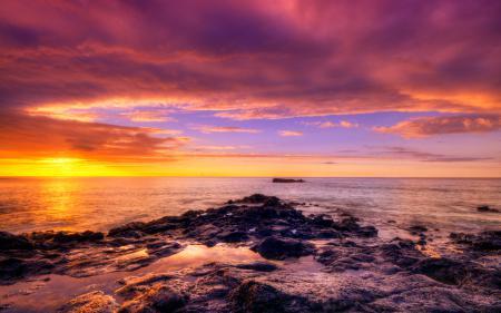 Картинки африка, океан, закат, камни