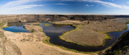 Фотографии Пустыня, Каньон, Скалы, Панорама
