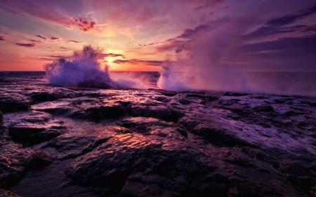 Фотографии Superior Waves, gooseberry falls state park, минессота, сша