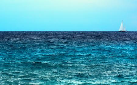 Картинки парусник, волны, море