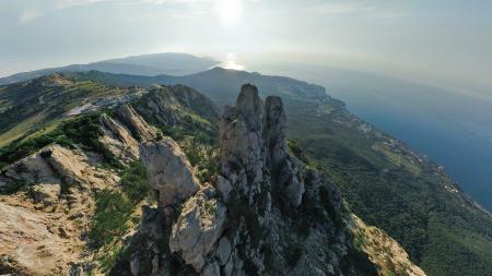 Фото Ay Petri, гора, небо