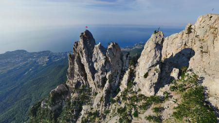 Обои Ай-Петри, Крым, горы, высота