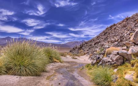 Обои горы, небо, природа, пейзаж