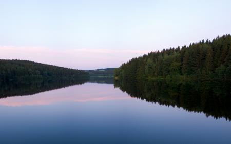 Картинки пейзажи, леса, фото, озеро