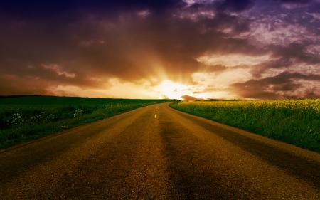 Фотографии пейзажи, обои, дорога, дороги