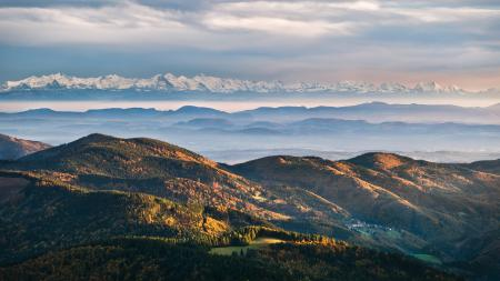 Фотографии горы, скалы, лес, деревья
