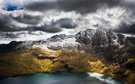 Картинки Snowdon, wales, the uk, горы
